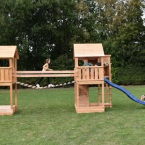 Groot speeltoestel Backyard in Douglashout
