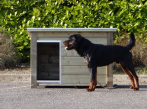 Hondenhok Ferro geïmpregneerd 129 cm