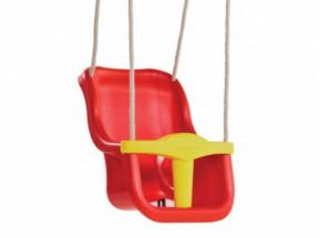 Babyschommelzitje Rood - met PH-touw