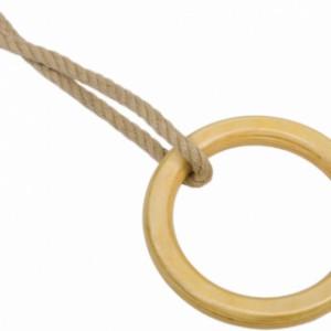Houten turnringen met PH-touw