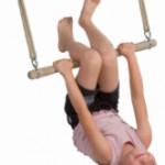Houten trapeze ergonomic