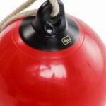 Boeibal 'drop' rood - schommel, boksbal en schopbal