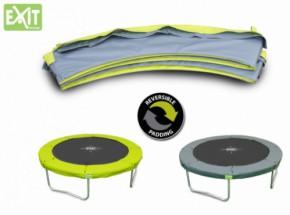EXIT Twist trampoline beschermrand Groen - Grijs