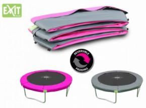 EXIT Twist trampoline beschermrand Roze - Grijs