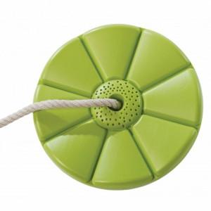 Kunststof schotelschommel Limoen groen - met PH-touw