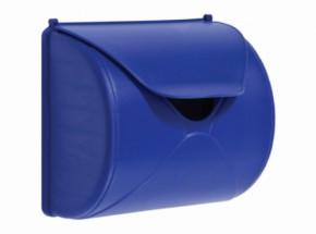 Brievenbus blauw