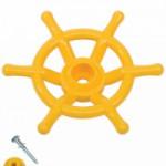 Stuurwiel geel boot