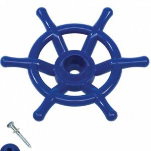 Stuurwiel boot blauw