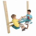 Kunststof picknickset voor aan speelhuis