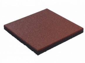 Rubber tegel rood 45mm