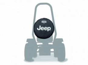BERG skelter Jeep reservewiel