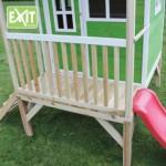 Speelhuisje EXIT Loft 300 met glijbaan
