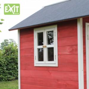 Speelhuisje EXIT Loft 300 rood