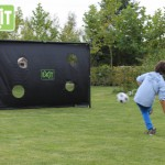 Voetbaldoel EXIT Finta penalty