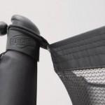 Trampoline BERG Champion 380 safety InGround Grijs - met veiligheidsnet Comfort 380cm