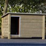 Groot hondenhok Loebas voor buiten, geschikt voor Deense & Duitse Dog, Leonberger en Sint Bernard