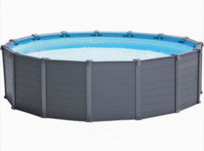 Zwembad Intex Graphite Panel 478x124cm