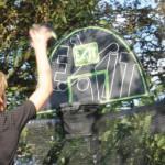 EXIT Trampoline Basketball Mini Hoop