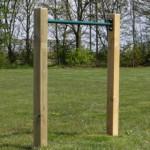 Duikelrek Groen - met 2 palen 90 cm