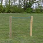 Duikelrek Groen - met 2 palen 125 cm