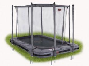 Pro-Line 234 trampoline InGround met safetynet Grijs 3,40x2,40m