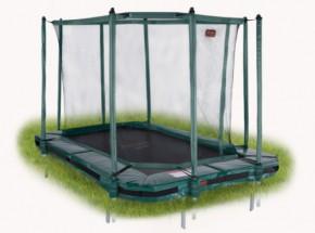 Pro-Line 238 trampoline InGround met safetynet Groen 3,80x2,55m