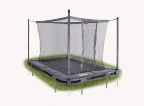 Avyna Pro-Line 203 trampoline InGround met veiligheidsnet Grijs 2,15x1,55m