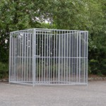 Hondenkennel 2x2 meter