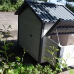 Groot konijnenhok Lotte met massief houten achterwand