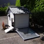 Groot konijnenhok Lotte met mestlade