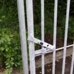 Deursluiting kennelpaneel met deur