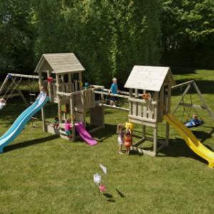 Speeltoestel in de tuin? De Blue Rabbit Garden!