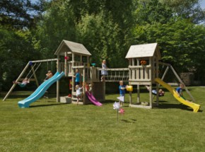 Speeltoestel in uw tuin? Schitterend houten speeltoestel Garden