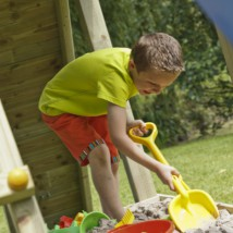 Zandbak onder speeltoestel Blue Rabbit 2.0 Garden