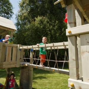 Loopbrug voor speeltoestel, leverbaar als aanbouwelement @Bridge