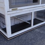 Vlonder voor konijnenhok Holiday Medium met extra uitloopren