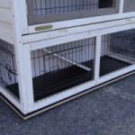 Vlonder voor konijnenhok Rosanne