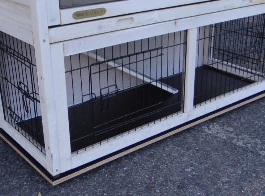 Vlonder voor konijnenhok Basic