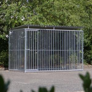 Hondenren FLINQ 1.5x3 met dak