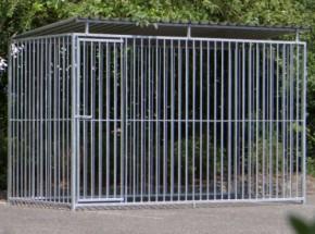 Hondenkennel FLINQ 1.5x3 met dak