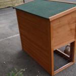 Goedkoop konijnenhok Basic met massief houten achterwand