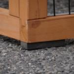 Kippenhok Prestige Medium - rubber voetjes