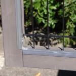 Konijnenhok Marianne met aluminium anti-knaagstrips