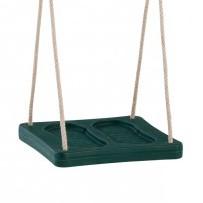 Kunststof voetschommel Groen - met PH-touw