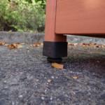 rubber verstelbaar voetje