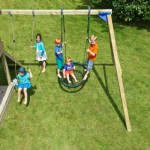 Aanbouwschommel @Swing voor houten speeltoestel