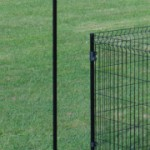 Paal Zwart 125/170cm