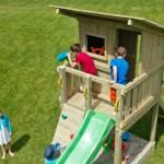 Blue Rabbit Beachhut is een mooie speeltoren van geïmpregneerd hout