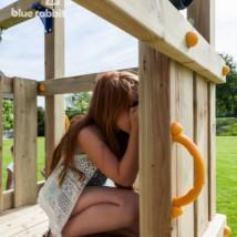 Houten speeltoestel Blue Rabbit Cascade: urenlang speelplezier voor de kinderen