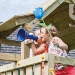 Speeltoren Blue Rabbit Pagoda met glijbaan